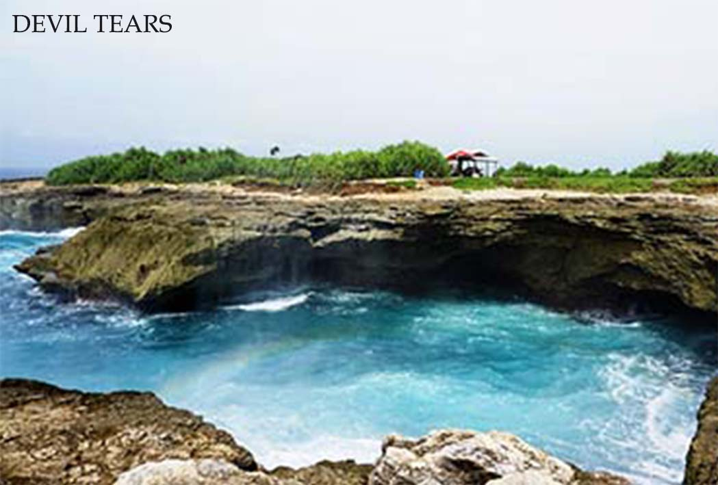 nice view to see destination in nusa penida