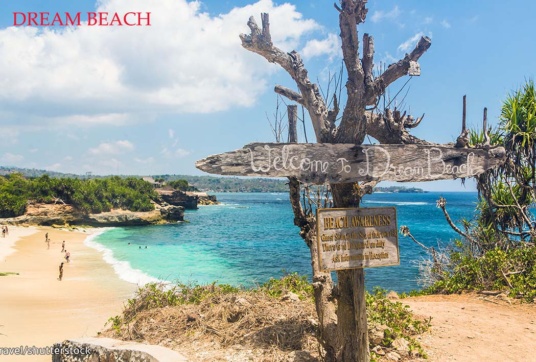 nusa lembongan beach white sand dream beach
