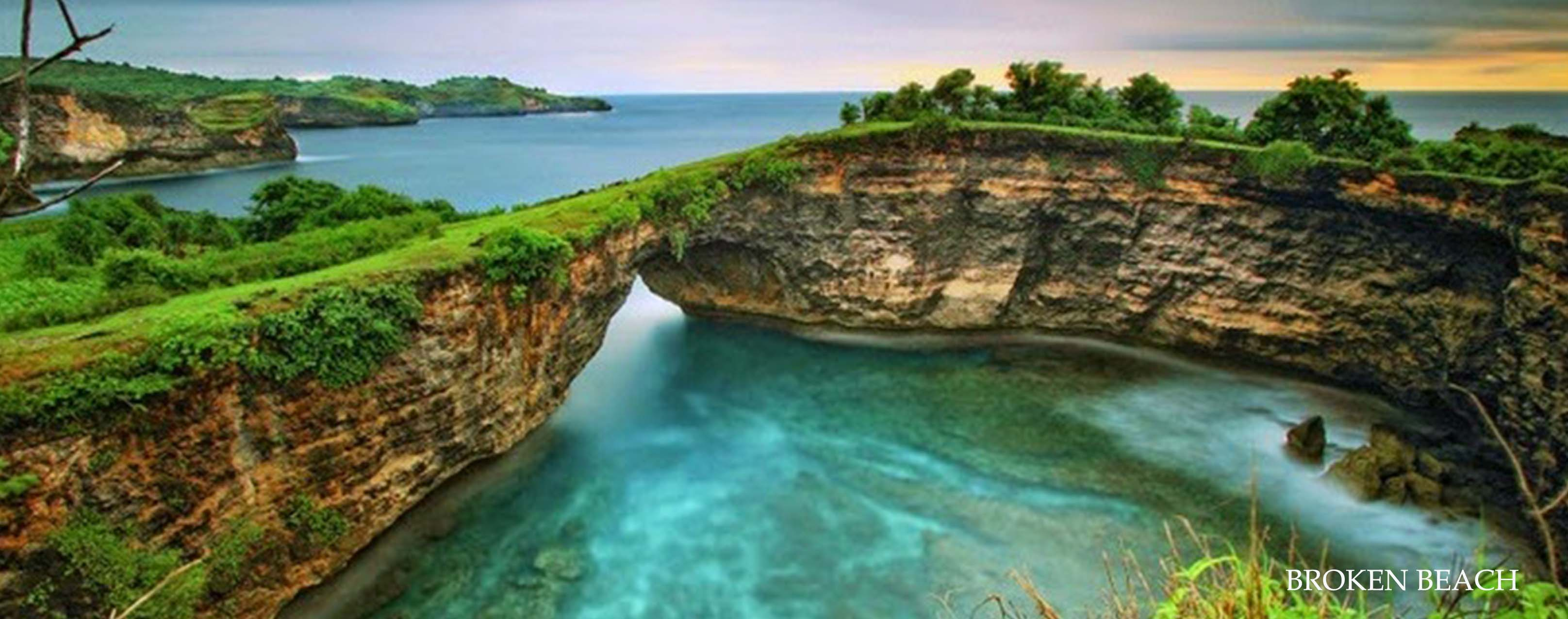 west nusa penida bali tour is broken beach