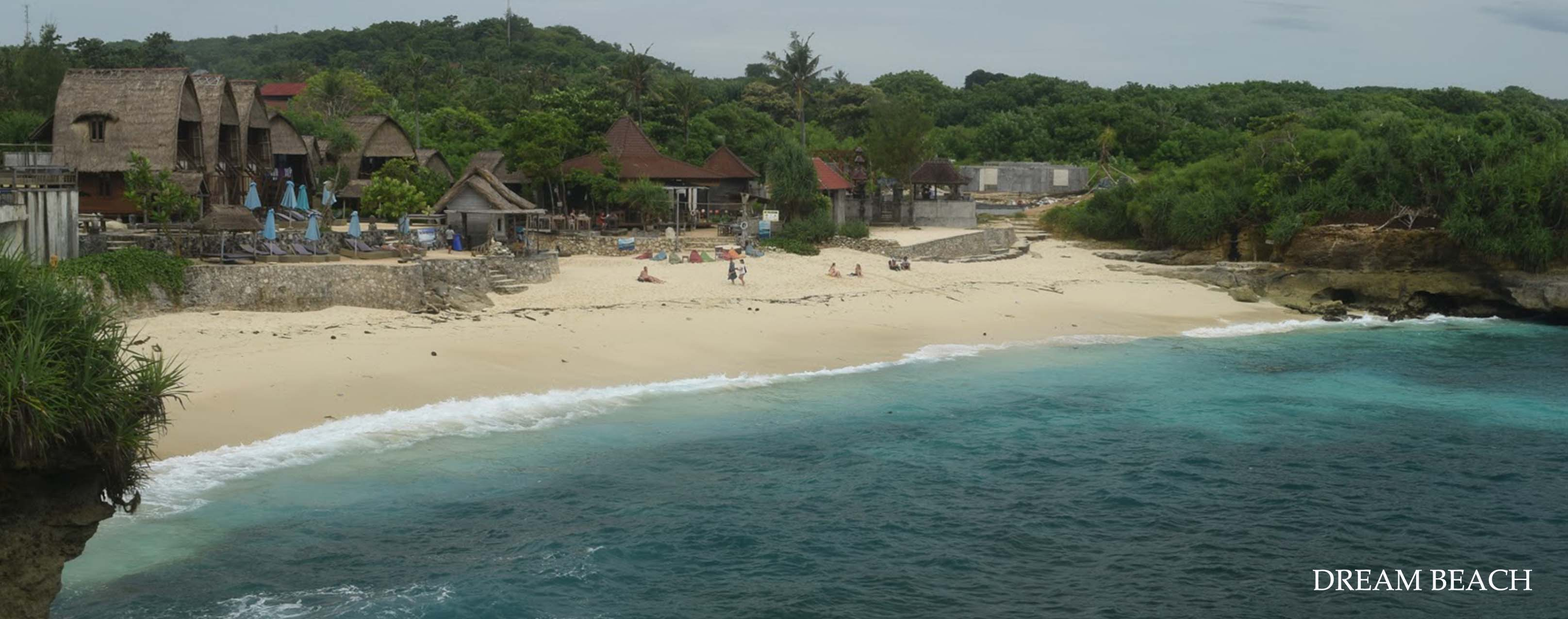 nusa lembongan dream beach white sand